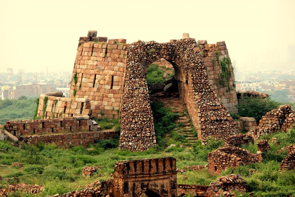 The Tughlaqabad Fort Source: Gaurav Saraswat