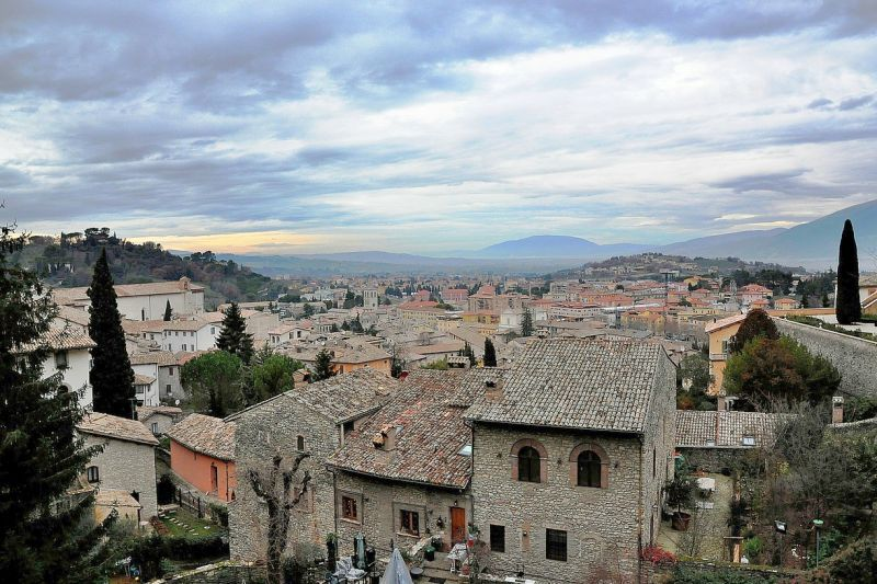 Typical Umbrian Town Landscape. Photo credit: Big_Apple/Pixabay