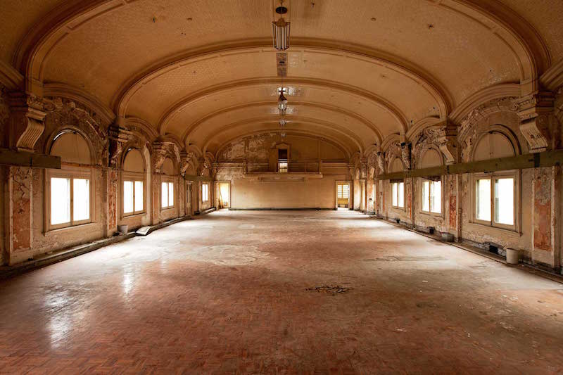 The ballroom now. Photo credit: cv.vic.gov.au