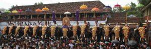 Tripunithura, Kochi: The Vrischikotsavam Festival at Sree Poornathrayeesa Temple