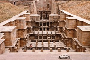 The Ran-ki-Vav Stepwell at Patan in Gujarat