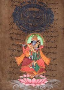 Explore Rajasthan's miniature stamp paper paintings