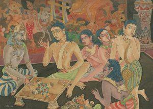 Chowka Bhara: A Vedic board game from the epic tale of Mahabharata