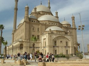 Solve this quiz on the Great Mosque in Cairo