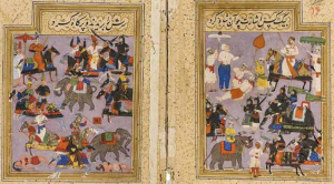 The ruins of the battle of Talikota