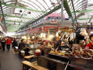 Visit the 100-year old Kwangjang Market in South Korea