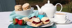 Cream tea and tea drinking in Britain