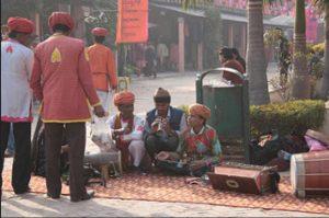 Food Walk through Dilli Haat