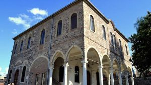 The restoration of Greek orthodox church in Izmir