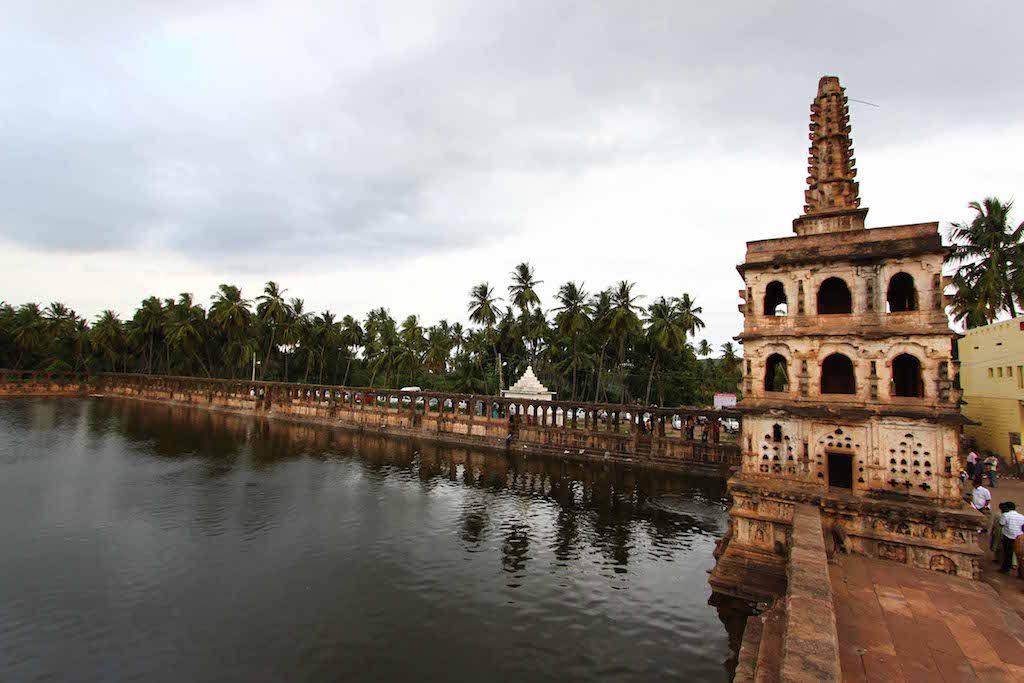 The Banashankari Temple.