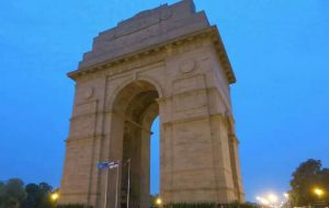 A memorial to unknown soldiers: The India Gate